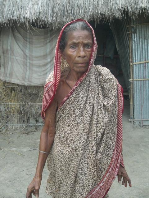 Saleha Beowa, widow- Photo by AHRC