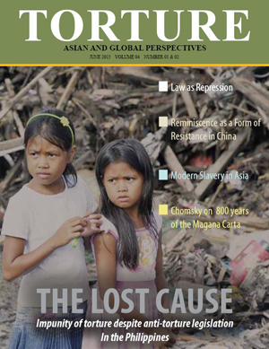 WORLD: The Lost Cause - the latest issue of Torture magazine is now available