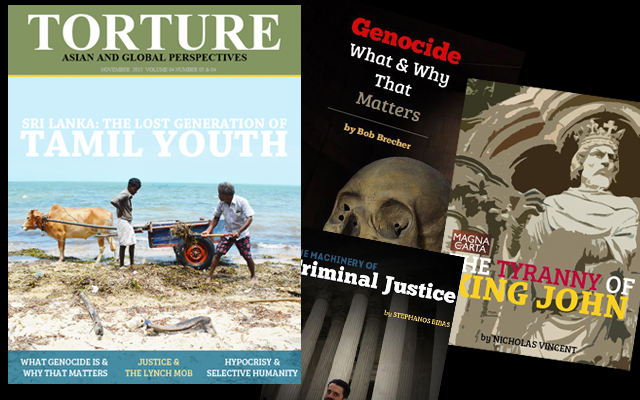 WORLD: The Lost Generation of Tamil Youth in Sri Lanka - latest issue of Torture Magazine