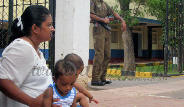 SRI LANKA: Mayuri Inoka, wife campaigning for disappeared husband, abducted