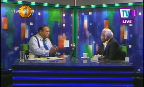 "SRI LANKA: ""Though heavens fall let justice prevail"": An Interview with Basil Fernando on TV1 Newsline"