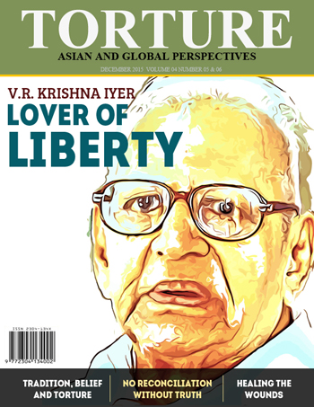 WORLD: Remembering Justice V.R. Krishna Iyer - Latest issue of Torture Magazine