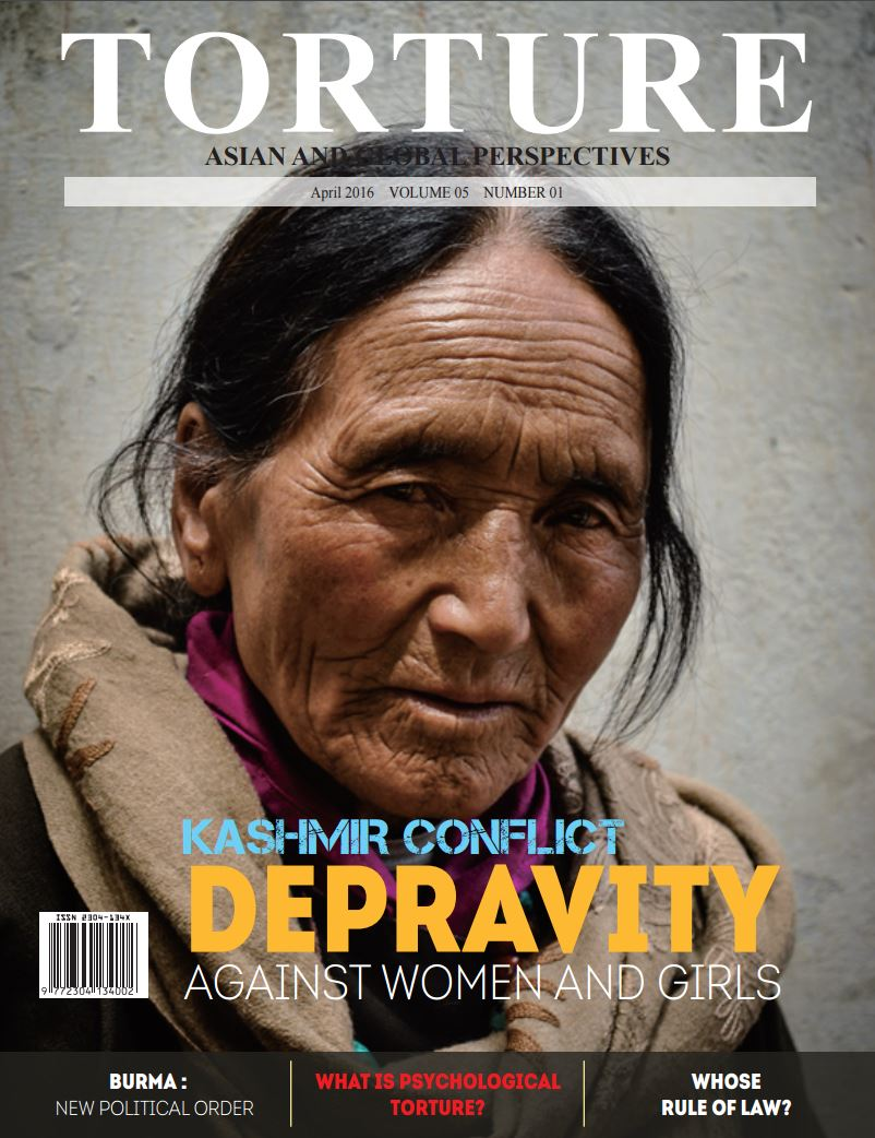 WORLD: Depravity against women & girls in the Kashmir conflict - In the latest issue of Torture Magazine